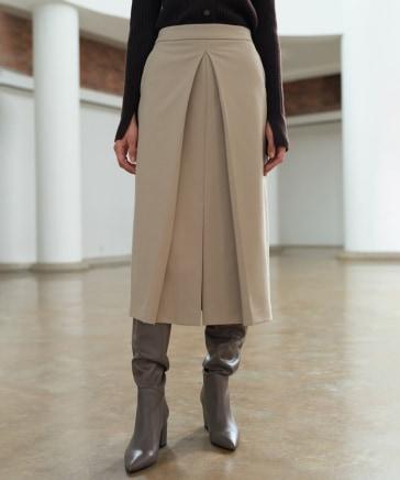MOHAN/フロントタックスリットスカート