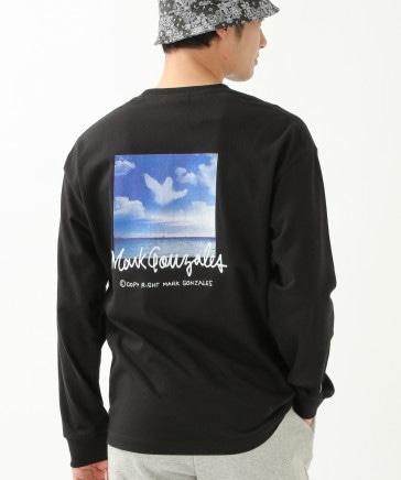 【UNISEX】Mark Gonzales/SKY ANGEL ロンT