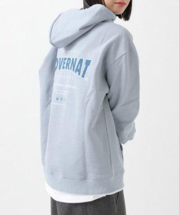 【UNISEX】COVERNAT/BACKロゴフーディー