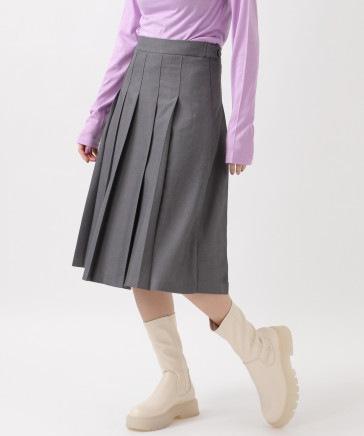ROCKET×LUNCH/PLEATSスカート