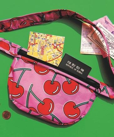 WIGGLE WIGGLE/Waist Bag Cherry