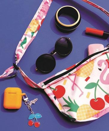 WIGGLE WIGGLE/Waist Bag Flamingo
