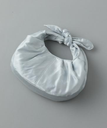 【e/rm】Silk100ギャザーバッグ