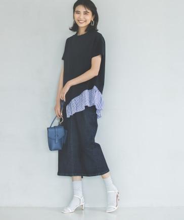 フロントファスナースカート