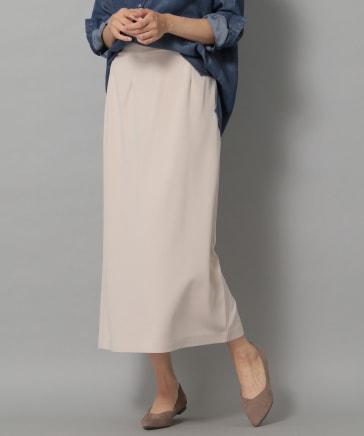サマ見えロングナロースカート