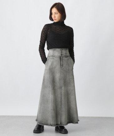 カイハラデニムフレアスカート