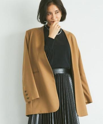 ウール混ビックジャケット
