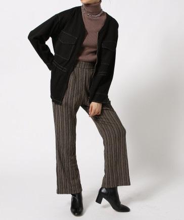 【WOMEN】ミリタリーシャツジャケット