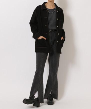【WOMEN】デニムカバーオール
