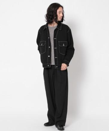 【UNISEX】デニムCPOジャケット