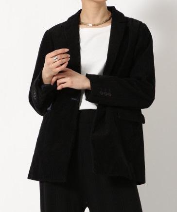 【WOMEN】ライトコールオーバーサイズジャケット