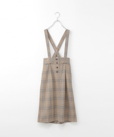 【AND YUA ANY】オトナミエサスツキスカート