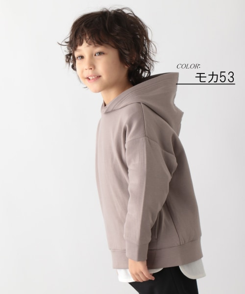 [150160cm拡大]イージーDRY/プルオーバーパーカー【キッズ】