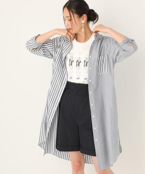 78e5a36270599 イージーケアリネンシャツワンピース ¥ 4