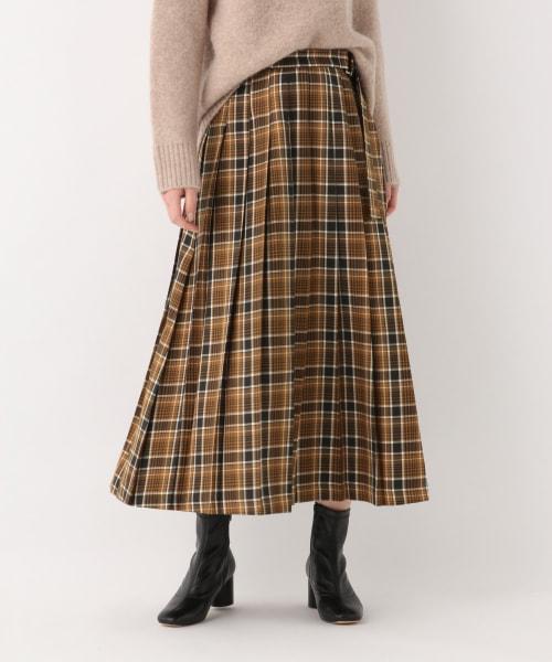 チェックプリーツスカート【アウトレット価格】 | [公式]グローバル ...