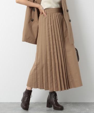 【WEB限定価格】トレンチサイドプリーツスカート
