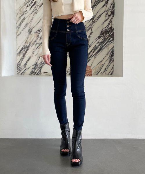 【XXS~Lサイズ】ヘザーISKOスキニー