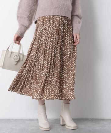 ダルメガラプリーツロングスカート