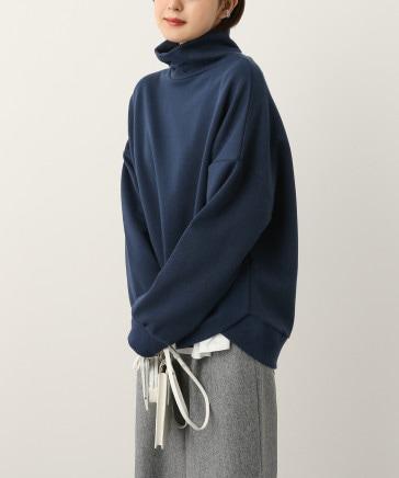 【WEB限定】タートルネックワイドスウェット