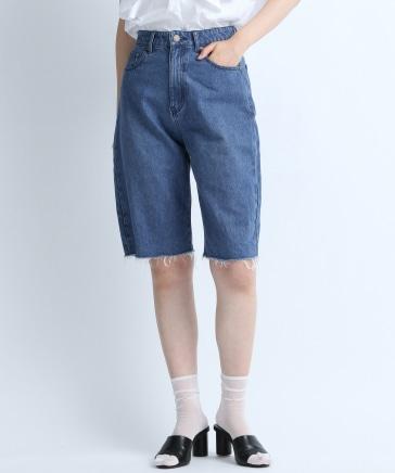【eL】Denim Half Pants