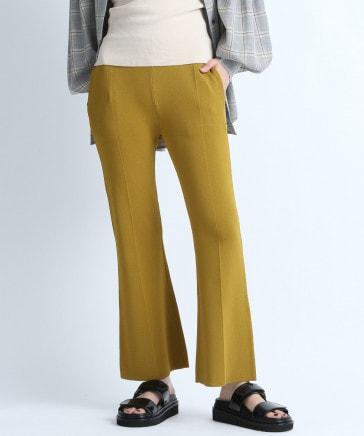【eL】12G Knit Color Pants