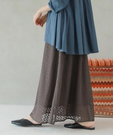 バルファレースフレアロングスカート