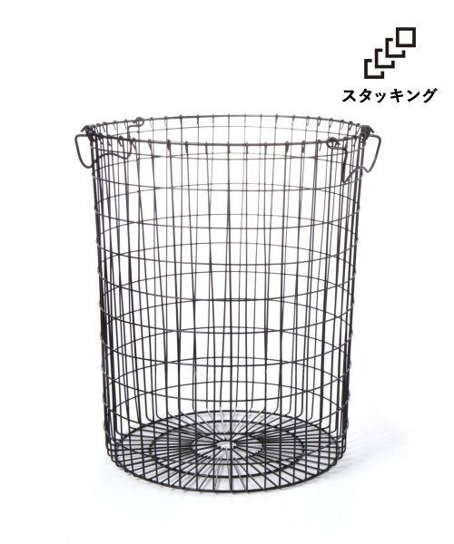 RoomClip商品情報 - (LAKOLE/ラコレ)ワイヤーバスケット ラウンド(L)/ [.st](ドットエスティ)公式