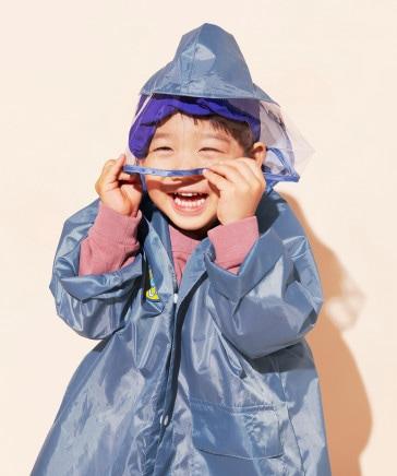 【らこれキッズ】レインコート