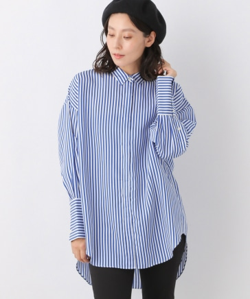 シルクコン洗えるシャツ