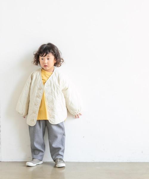 【カラー予約受付中】【KIDS】キルティングブルゾン
