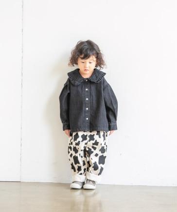 【KIDS】BIGカラーデニムシャツ