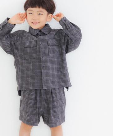 【KIDS】TRタックショートパンツ