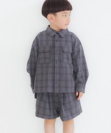 【KIDS】TRポケットシャツLS