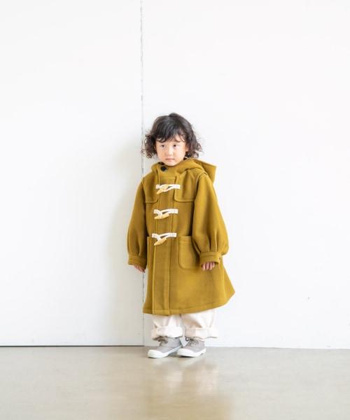 【KIDS】Wフェイスダッフルコート