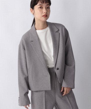 【セットアップ対応】ラナテック多機能ショートジャケット