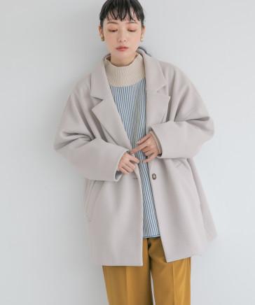 【カラー予約受付中】ウールライクユルジャケット