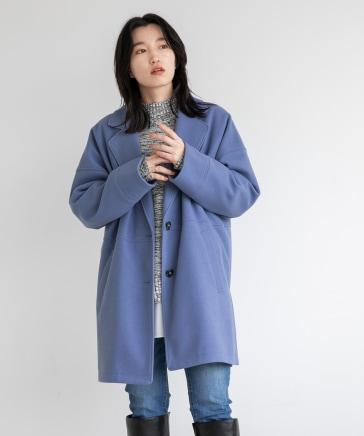 ウールライクボックスジャケット