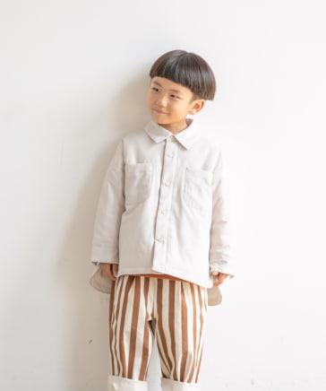【KIDS】エアサーマルシャツジャケット