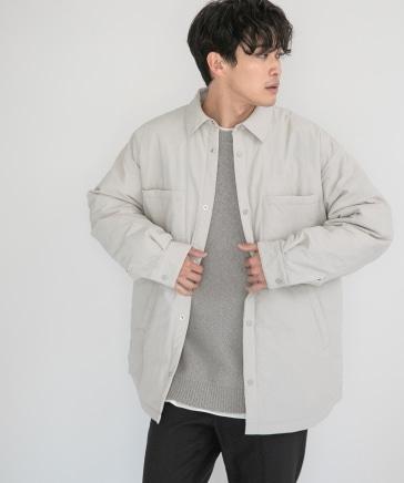 【MENS】エアサーマルシャツジャケット