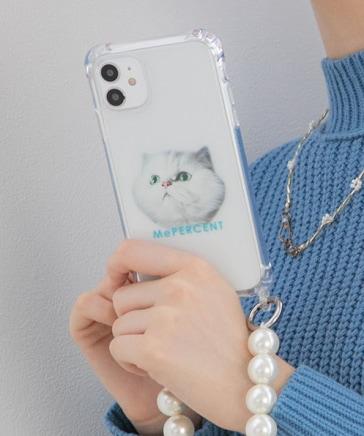 【iPhone11対応】プリントフックツキケース