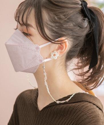 ヴィクトリアンマスク【韓国発!ダイヤモンド型マスク】