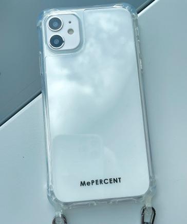 【iPhone11対応】フック付きクリアケース11