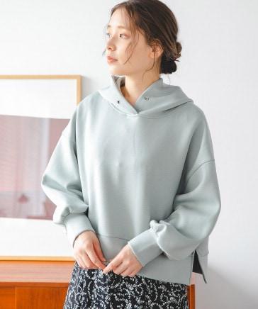 【天然アロマサシェ付き】ショートダンボールフーディ