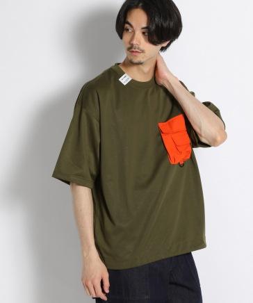 [CITY CREEK]ポケットTシャツ