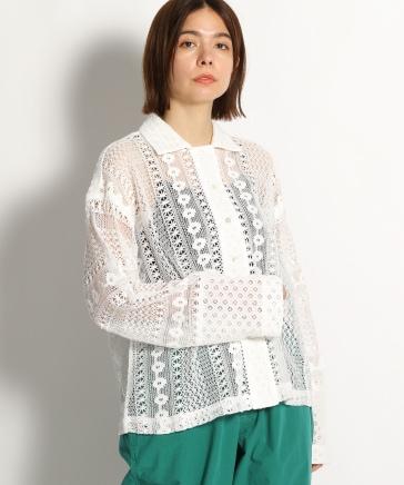 綿コンビレースシャツ