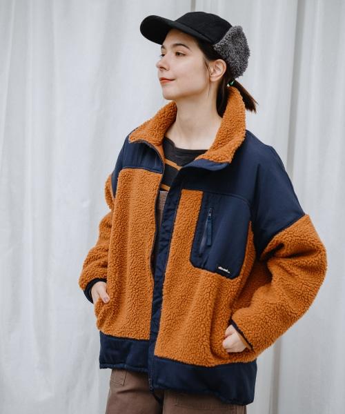 WARM BOA切り替えワイドジャケット