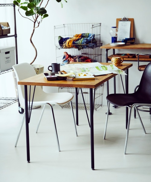 (niko and./ニコアンド)【大型家具】DINING TABLE130/WHITE OAK/ [.st](ドットエスティ)公式