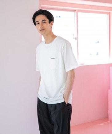 [NUMERALS]ポケットTシャツ