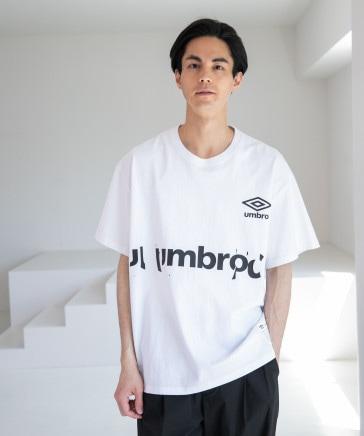 [NUMERALS×umbro(アンブロ)]コラボグラフィックTシャツ
