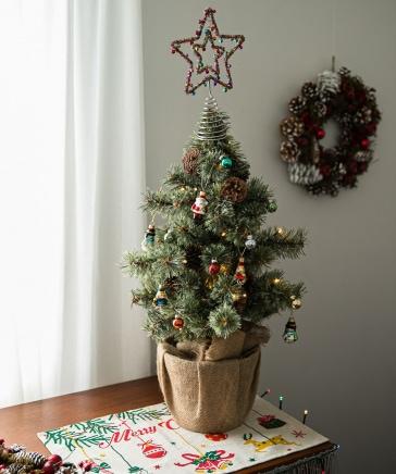 [2021Xmas]LED付きクリスマスツリー70cm【先行予約】